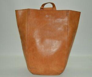 DKNY Vintage Leather Sling Backpack Tote Bag