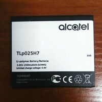 Original TLP025H1 TLP025H7 2500mAh Battery For Alcatel Onetouch Warranty
