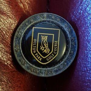 Oulton Golf Course Ball Marker