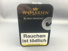 W.O. Larsen Black Diamond Tabak Pfeifentabak 100g Dose - pipe tobacco