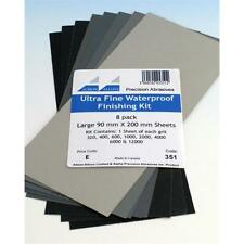 Ultra Fine Waterproof Finishing Pack 351 Pack of 8 Assorted Abrasive Sheets