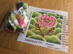 ehrman tapestry kit.  Partly Stitched.