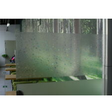 3D Static Cling Window Film Stained Glass Paper Frosted Sticker DIY Decoration