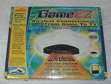 Game EZ Wireless Connection to TV. Audio/Video Signal link. Still in box