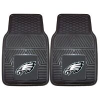 NFL Philadelphia Eagles Car Truck 2 Front Heavy Duty Rubber Vinyl Floor Mats