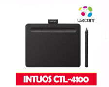 Wacom INTUOS CTL-4100 Wired USB 7in 4096 Wireless Pen Black Edition Free Ship#