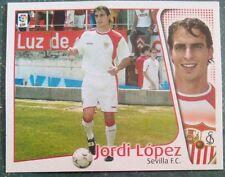 JORDI LOPEZ SEVILLA COLOCA ESTE 04-05, SIN PEGAR, DE SOBRE, 2004-2005, 2004-05.
