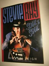 STEVIE RAY VAUGHAN SOUL TO SOUL SOFT COVER BOOK KERI LEIGH SRV
