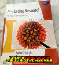 FAST SHIP: Marketing Research: An Applied Orientation 6E by Malhotra