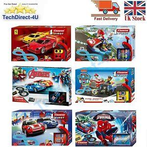 Carrera Slot Racing System Two Person Paw Patrol, Mario, Cars, Mini, Avengers