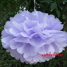 "Tissue Paper Pom Poms Flower Ball Wedding Party Birthday Decor 6""/8""/10""/12"""