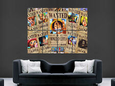 One Piece Wanted Manga gran gran pared arte cartel Imagen