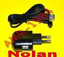 Alimentatore CARICABATTERIA NOLAN N-COM presa USB + USB MICRO NOCOM00000023 + 24