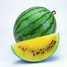FD806 Rare Sweet Watermelon Seeds Fruit Garden Seed ~Yellow~ 10PCs Free Shipping