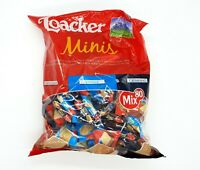 Loacker Classic Minis Kids 80 x Crispy Wafers Assorted Biscuits Bite Size Snack