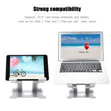 Universal Aluminum Laptop Stand Tablet Holder Dock Foldable For Notebook Macbook