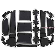 Interior Door Mat Cup Pads Holder 14PCS For Mitsubishi Outlander 2013 - 2016