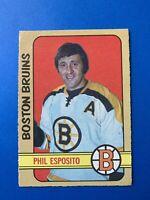 Phil Esposito 1972-73 O-Pee-Chee Hockey Card #111 Boston Bruins OPC