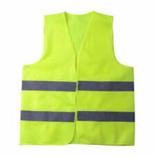 High Safety Security Visibility Reflective Vest Fluorescent Yellow Traffic Work