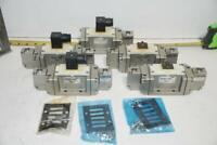 Qty of 5 - SMC Pneumatic Air Directional Control Valve VSP4230-003DL - 110V