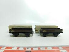 BI621-0,5# 2x TTR/Trix Twin Railways H0/DC 600 Niederbordwagen LMS 472870, OVP