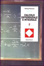 CALCOLO DIFFERENZIALE E INTEGRALE (VOLUME 2) - analisi matematica OCCASIONE !!!