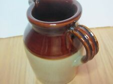 PEARSONS OF CHESTERFIELD 1810 INK STAMPED VINTAGE STONEWARE PITCHER 5 1/2""
