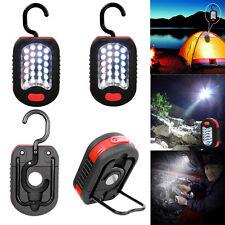 2pcs LED Work Light 24 Flashlight 3 Stand Camping Hiking Magnet Hanging Pol