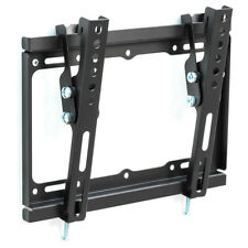 """SUPPORTO STAFFA PARETE MURO INCLINABILE TV LCD TFT LED 17-37 """" VESA max 200x200"""