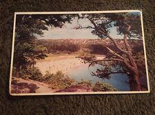 Vintage Postcard Posted 1987 Sand Beach My Desert Island Maine