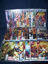 The New Avengers #1 - #34 (2010) Nm Marvel with Bag and Board Complete Set