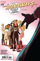 Runaways #25 Marvel Comics Cover A 1st print MCU