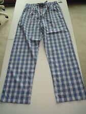 Polo Ralph Lauren Men's Medium Pajamas Lounge Pants Plaids Cotton Sleepwear NWT