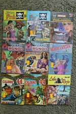 NOVELA MACABRA, CALIBRE 44 Y OTROS, LOT 9 MEXICAN COMIC, LIBRO VAQUERO, Kaliman,