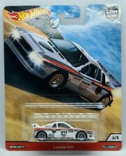 Hot Wheels Car Culture 2020 Thrill Climbers Lancia 037 White Real Riders