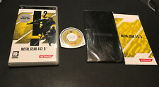 Metal Gear Acid 2 Ac!d.2 CON GAFAS 3D PSP PAL ESPAÑOL