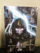 FINAL CRISIS: REVELATIONS / GREG RUCKA / HC / DC Comics / New Factory Sealed ~