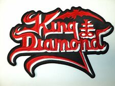 KING DIAMOND   SHAPED  LOGO  EMBROIDERED BACK PATCH
