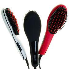 Cabello Glow Straightening Brush WHITE / BLACK / RED