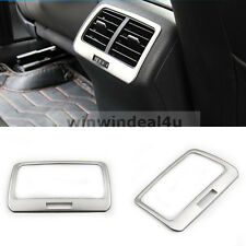 FOR VW GOLF 7 MK7 VII CAR REAR SEAT AIR CONDITIONING TRIM COVER STICKER