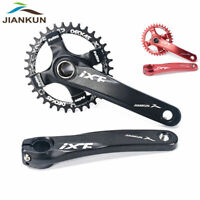 32/34/36/38t MTB Bike Crankset BB 170mm Crank 104bcd Narrow Wide Chainring CNC