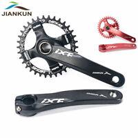 32/34/36/38t MTB Bike Crankset BB 170mm Crank 104bcd Narrow Wide Chainring CNC