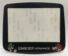 REPLACEMENT SCREEN LENS MARIO & LUIGI TO SUIT NINTENDO GAMEBOY ADVANCE - GBA
