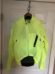 Specialized Men's Deflect H2O Commuter Riding Jacket, Men's Medium, Neon Yellow