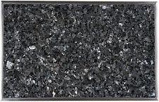Einbau Granitfeld Arbeitsplatte 510x325mm mit Edelstahlwanne Labrador Blue Pearl