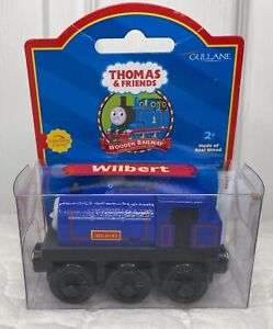 RARE 2001 Thomas & Friends Wooden Railway Wilbert Engine Retired Learning Curve