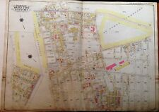 ORIG 1915 BELCHER HYDE GLENDALE MASPETH MIDDLE VILLAGE QUEENS NY PLAT ATLAS MAP