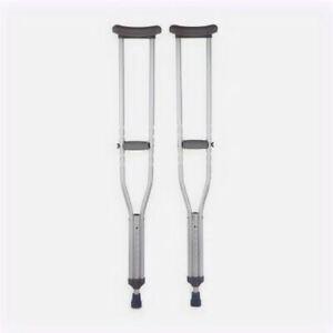 Underarm Crutches Aluminum Frame Adult 350 lbs.