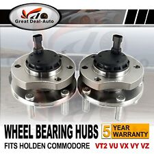 Front Wheel Bearing Hubs Hub for Holden Commodore VT2 VX VU VY VZ V6 V8 ABS PAIR