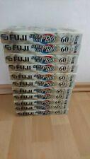 11x Fuji 60 Super VHS Pro Videokassetten - VHS Kassetten + Neu in Folie